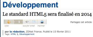 HTML5 2014