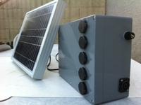 Chargeur solaire 5 prises