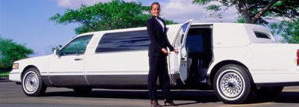 Chauffeur limousine
