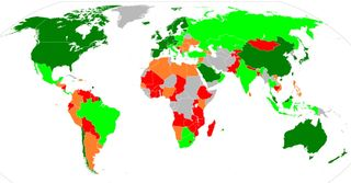 Countries competiveness index