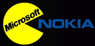 Microsoft eating nokia