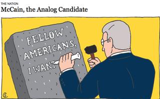 NY times - McCain Analogist