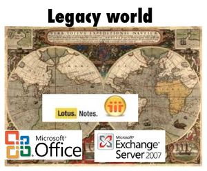 Legacy world - 365 vs Apps 1