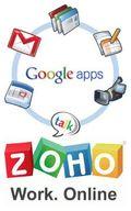 Logos Zoho & Google