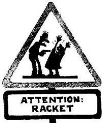 Attention racket