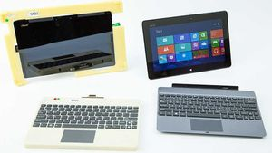Tablettes Windows RT with keyboards