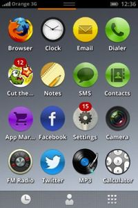 Firefox OS home Page