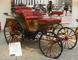 Bentz 1893 type voiture cheval