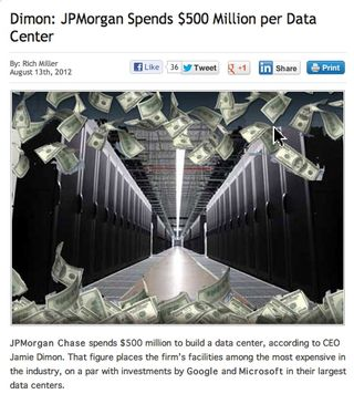 JP Morgan $500 Data Center