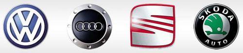 VW main logos