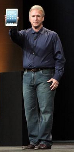 Phil Schiller with iPad mini
