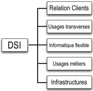 Structure DSI Industrielle