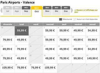Vueling Paris Valencia