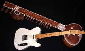 Old, new guitar