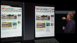 Comparaison ipad mini Nexus Galaxy