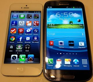 Iphone5 vs Galaxy S3