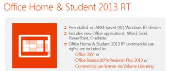 Office on Windows 8 RT
