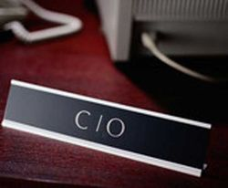 CIO on table