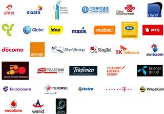 Mobile operators logos 2