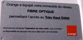 Orange Fibre optique