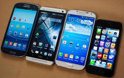 Galaxy 4 picture compared to others