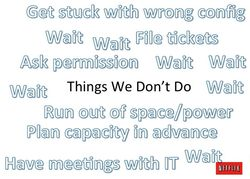 Netflix on AWS - Things we don't do