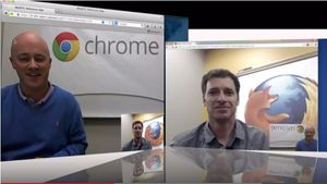 WebRTC - Talk between Chrome & Firefox 2