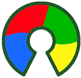 Logo Open Source couleurs Microsoft