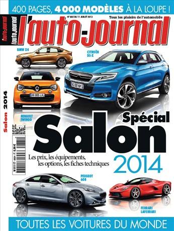 Auto journal spécial salon auto
