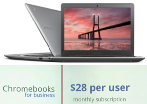 Chromebook Leasing $28