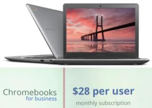 Chromebook Leasing $28