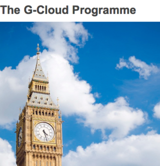 G-Cloud UK government marketplace