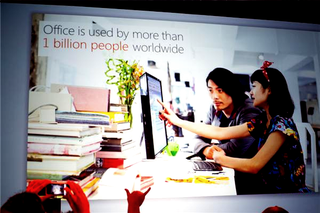 Office used by 1 billion people Microsoft presentation