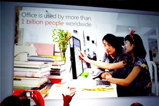 Office used by 1 billion people Microsoft presentation