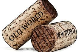 Old world new world corks