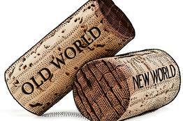 Old world new world corks