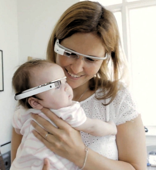 Baby Google Glass