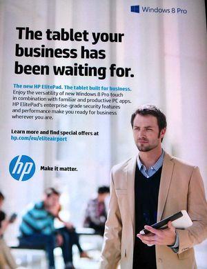 HP pub CDG Surface pro 2