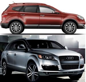 Audi vs Nissan