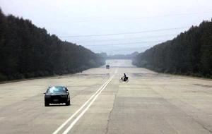 PYongyang empty streets