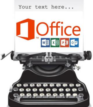 Old Typewriter = Office