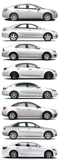 All cars alike