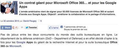 DoD 50k users Gapps, 50 k Office 365