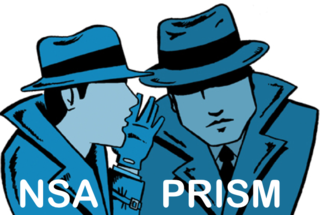 Two spies NSA, PRISM