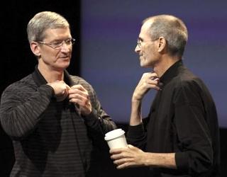 Tim Cook & Steve Jobs