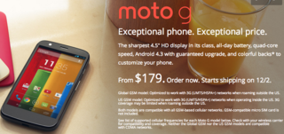 Moto G site Motorola 179