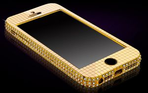 Gold Genie Solid Gold Superstar iPhone 5S £48000