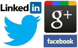 Réseaux sociaux les quatre mousquetaires