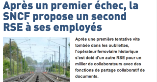 Second RSE à la SNCF