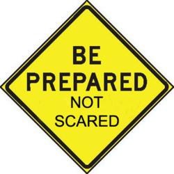 Prepared-not-scared